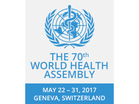 WHO World Health Assembly 2017