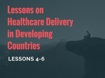 healthcare delivery lessons 456